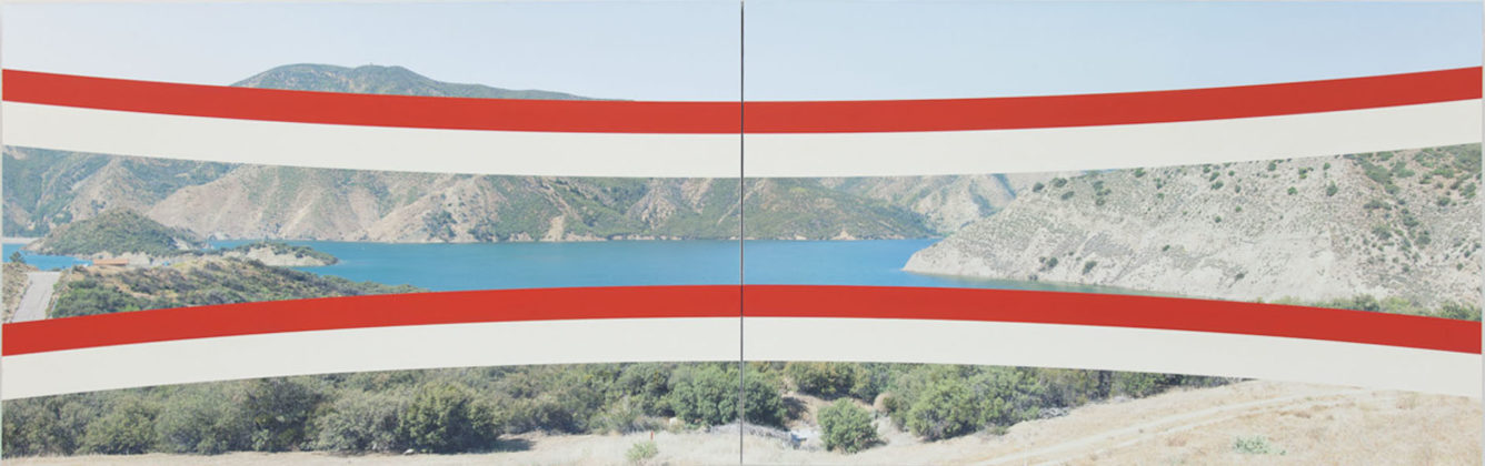 James Hyde, Red & Tan Reservoir, 2013