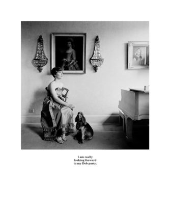 Karen Knorr, 15 I am really, série Belgravia, 1979-1981