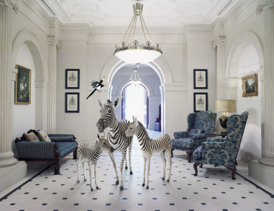 Karen Knorr, Peers of the Realm, série The Lanesborough, 2015