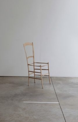 Intentions Fragiles. J. Chaumette, chaise.