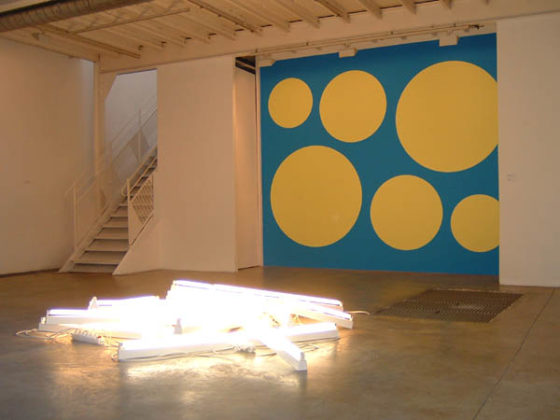 ARMLEDER John, Untitled, 17 néons, 2002<br />