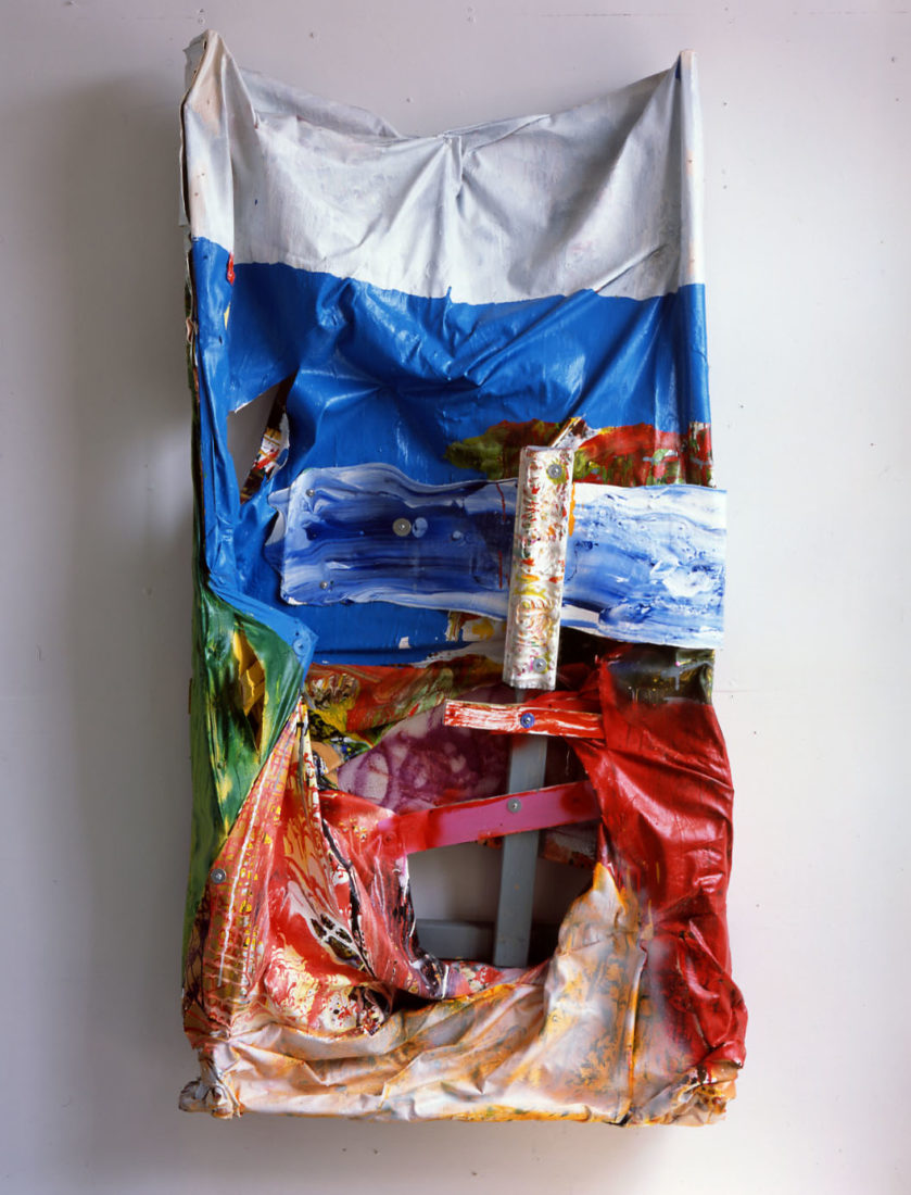 Waiting for the Elevator, 175 x 100 x 40 cm, 2003