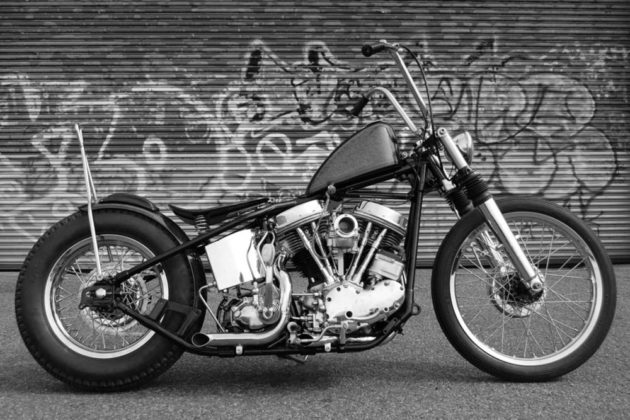 Olivier Mosset, Panhead motorcycle (en collaboration avec Jeffrey Schad and Vincent Szarek), 2011
