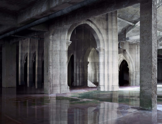 Noémie Goudal, In Search of the First Line II, 2014
