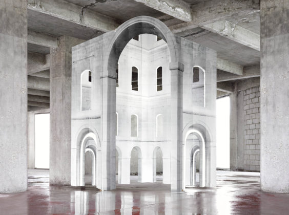 Noémie Goudal, In Search of the First Line III, 2014