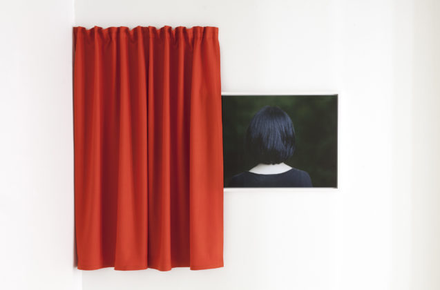 Anni Leppälä, Lunar Eclipse and Curtain, Installation view, 2017, AMA