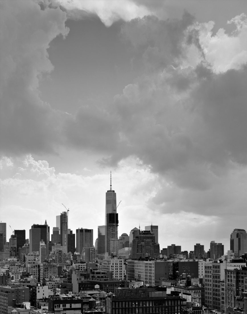 Mitch Epstein, Clouds #81, New York City, 2015