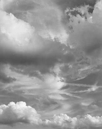 Mitch Epstein, Clouds #89, New York City, 2015