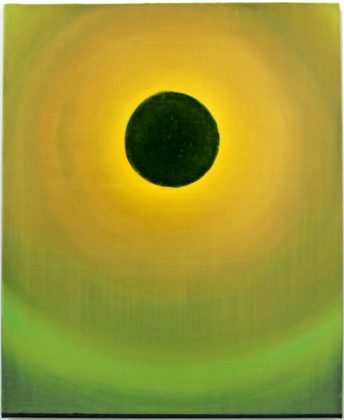 Eclipse, 2013, acrylic and oil on canvas, 60 x 74 cm<br />