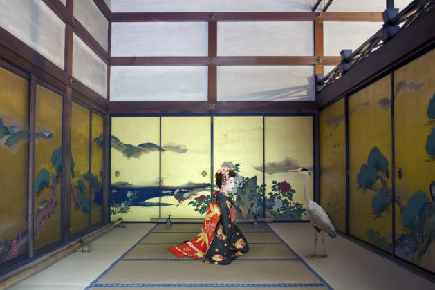 Karen Knorr, Mono No Aware, Shunko-in Temple, Kyoto, série Monogatari, 2012 - ongoing