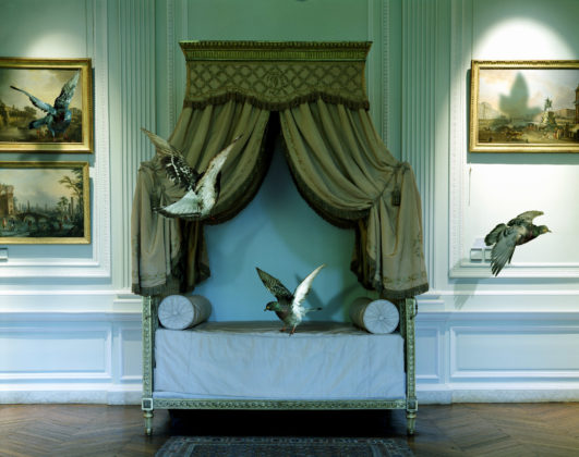 Karen Knorr, The Green Bedroom Louis XVI, série Fables, 2008, Carnavalet