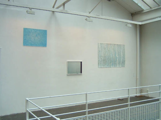 FASNACHT Heide, Rain in Windowpane, 2004 ; BLAIR Dike, Untitled, 2004 ; FASNACHT Heide, Rain on Windowpane IV, 2004