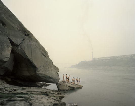 Bathers, Yibin, Sichuan Yangtze, The Long River, 2007