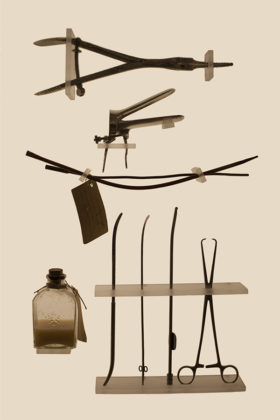 Laia Abril, A history of Misogyny, chapter one: On Abortion,  ILLEGAL INSTRUMENT KIT, 2015