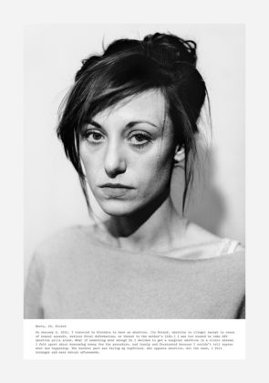 Laia Abril, A history of Misogyny, chapter one: On Abortion, Marta Portrait,2016