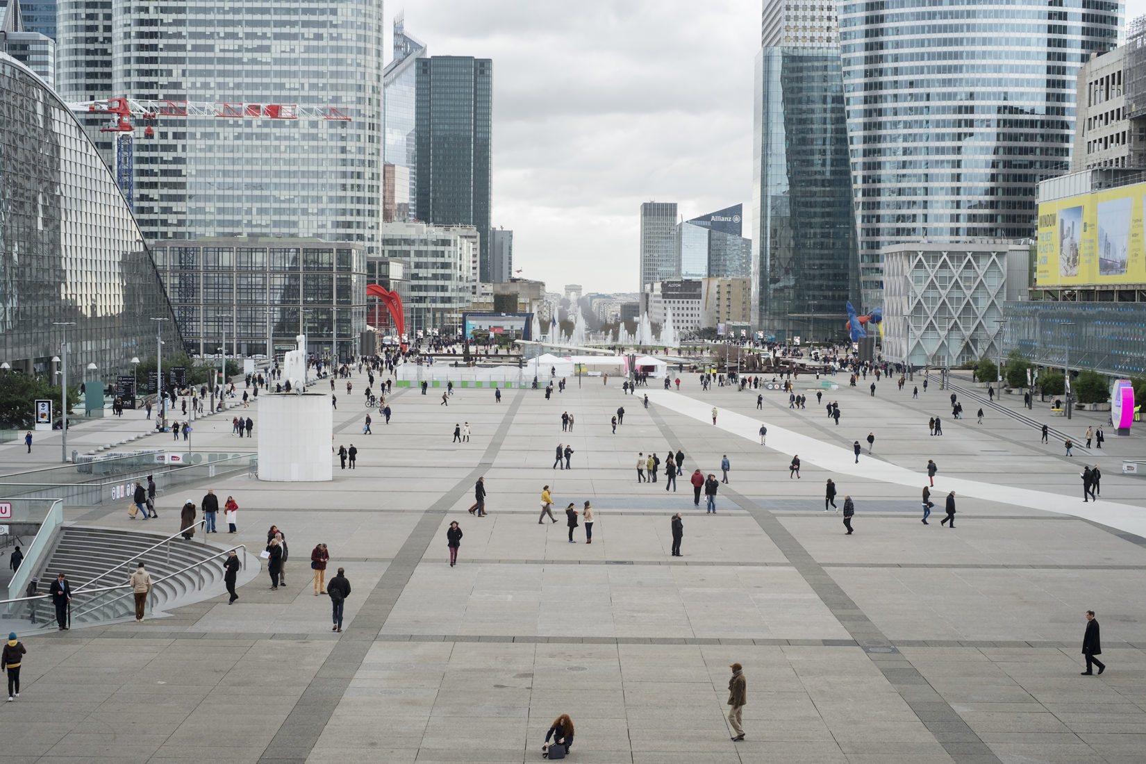 Square, La Défense, 2017