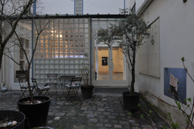 Exhibition view / Inside courtyard<br />