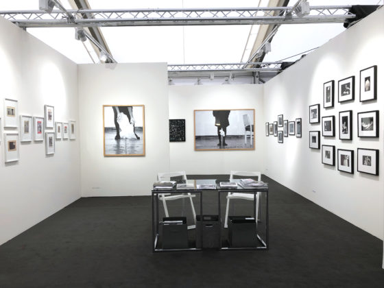 Booth view (Photo London 2018) : Helena Almeida, Katrien De Blauwer, Karen Knorr, Claudia Huidobro, Corinne Mercadier and Christer Strömholm