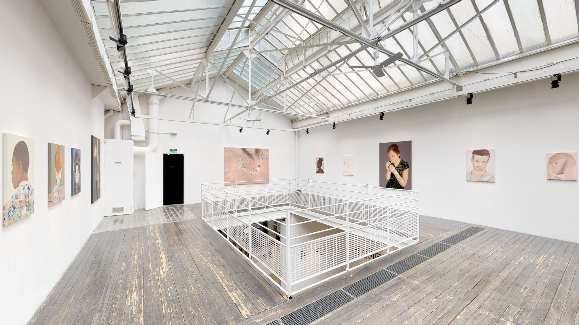 Exhibition view Katinka Lampe - Instadentity<br />